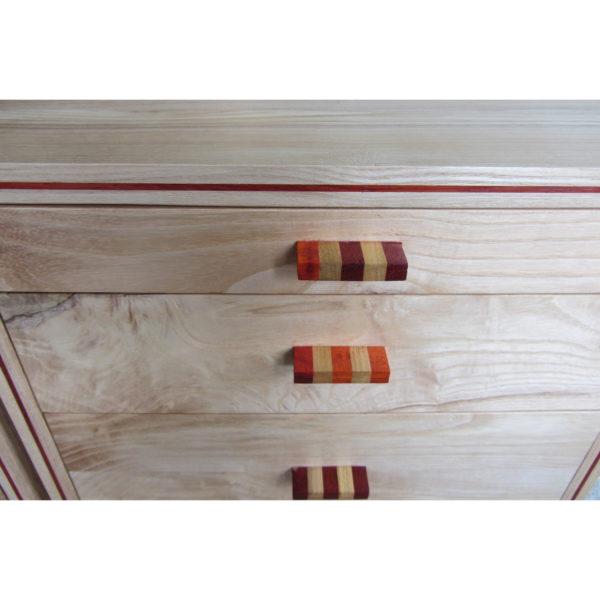 nachtkastjes van iepenhout